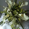 wedding bouquet by poppy's flower design