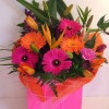 A24 £30 gift bag arrangement in flower foam