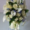 wedding bouquet by poppy's flower design, Leyland
