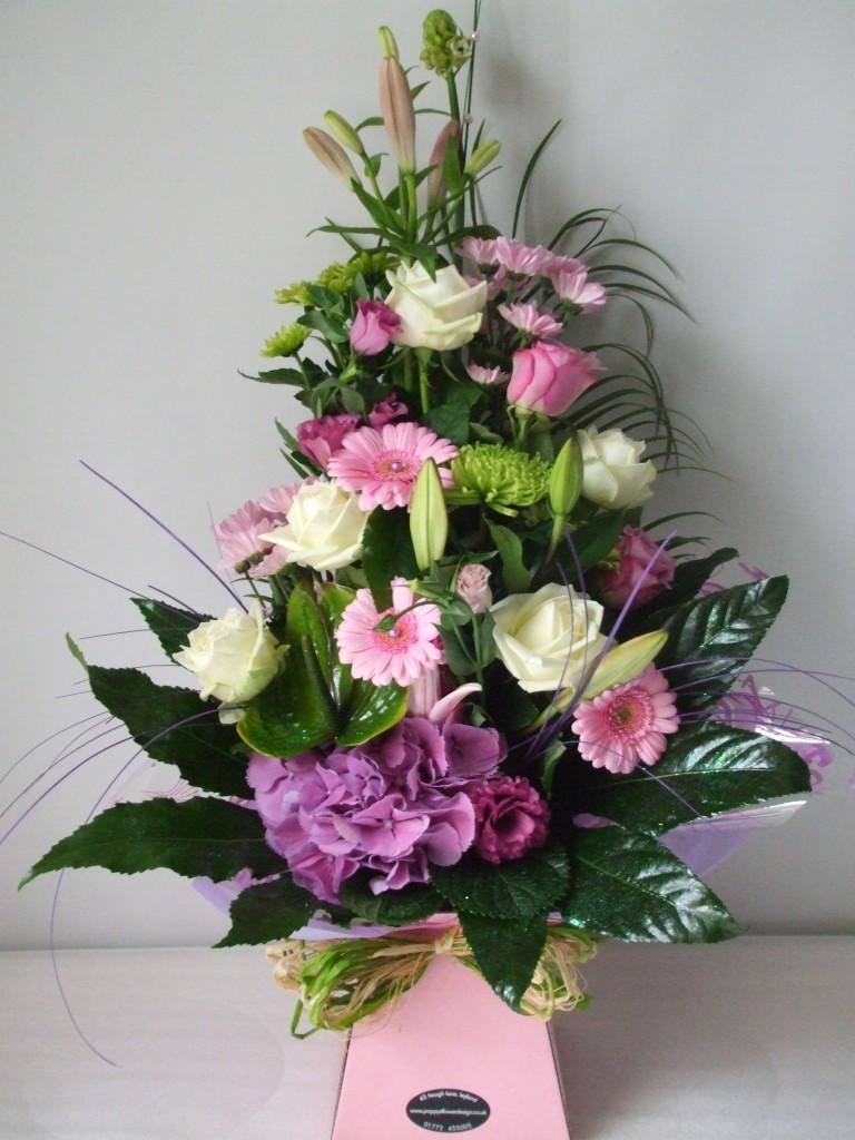 Flowers gifts poppys flower design